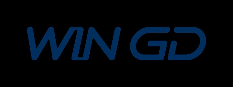 «Winterthur Gas & Diesel»-Logo in Dunkelblau.